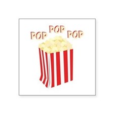 Pop Popcorn Sticker
