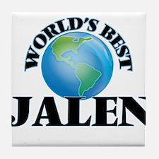 World's Best Jalen Tile Coaster