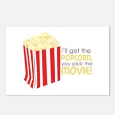 Get The Popcorn Postcards (Package of 8)