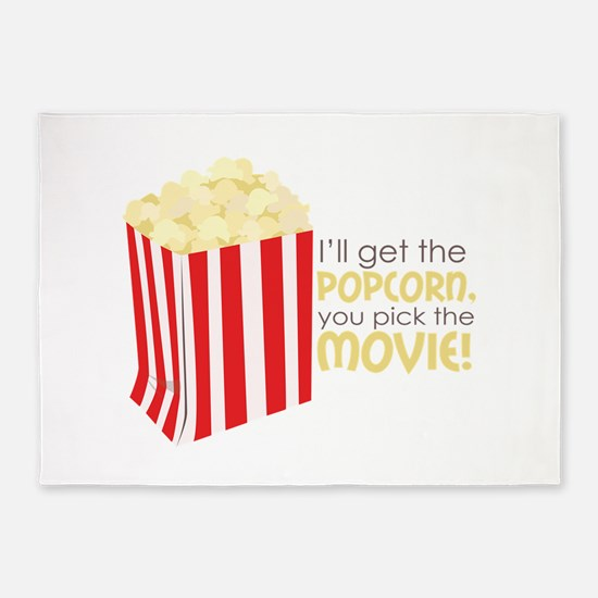 Get The Popcorn 5'x7'Area Rug