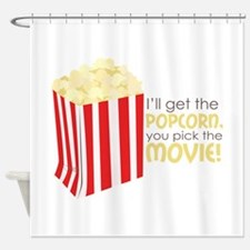 Get The Popcorn Shower Curtain