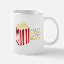 Get The Popcorn Mugs