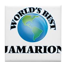World's Best Jamarion Tile Coaster