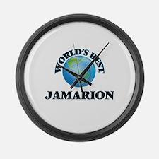 World's Best Jamarion Large Wall Clock