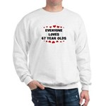 Everyone Loves 67 Year Olds Sweatshirt