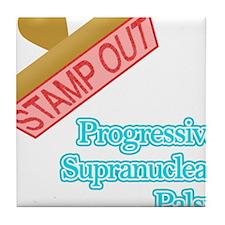 Progressive Supranuclear Palsy Tile Coaster