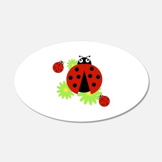 Ladybugs Wall Decal