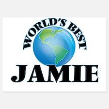 World's Best Jamie Invitations