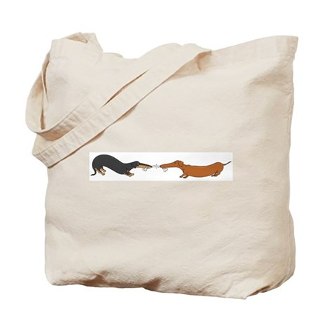 Bone Tug Tote Bag