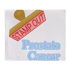 Prostate Cancer Throw Blanket