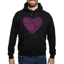 RunnerGirl Heart Hoodie