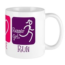 Peace-Love-Run Mug
