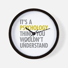 Its A Psychology Thing Wall Clock