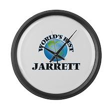 World's Best Jarrett Large Wall Clock