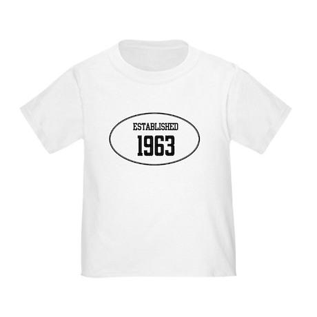 Established 1963 Toddler T-Shirt