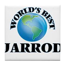 World's Best Jarrod Tile Coaster