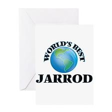World's Best Jarrod Greeting Cards