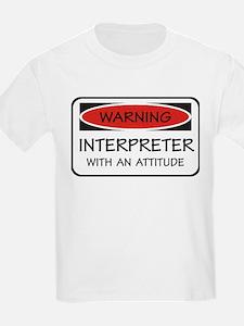 Attitude Interpreter T-Shirt