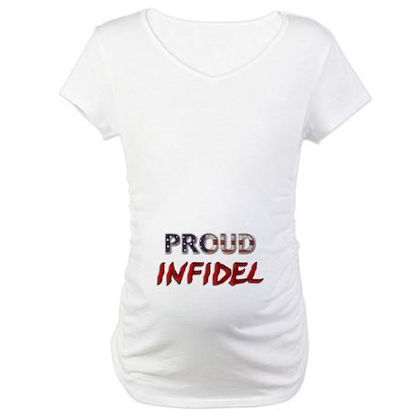 Proud Infidel Maternity T-Shirt