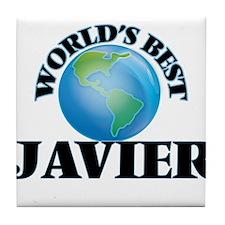 World's Best Javier Tile Coaster