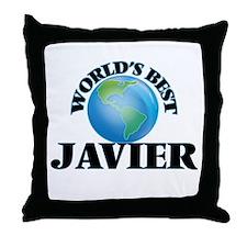 World's Best Javier Throw Pillow