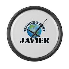 World's Best Javier Large Wall Clock