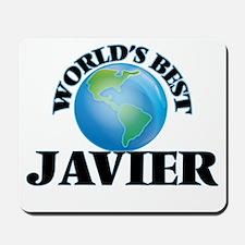 World's Best Javier Mousepad