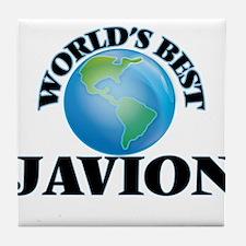 World's Best Javion Tile Coaster