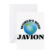 World's Best Javion Greeting Cards