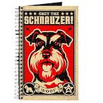 Schnauzer World Domination Vintage Journal