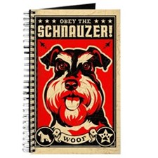 Schnauzer World Domination Vintage Journal