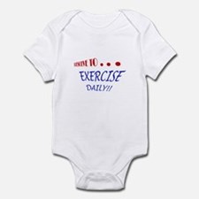 New year resolutions Infant Bodysuit
