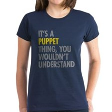 Its A Puppet Thing Tee