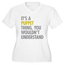 Its A Puppet Thin T-Shirt