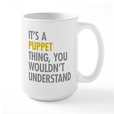 Its A Puppet Thing Coffee Mug