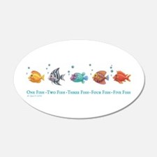 One Fish, Two Fish Wall Decal