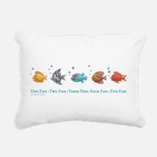 One Fish, Two Fish Rectangular Canvas Pillow