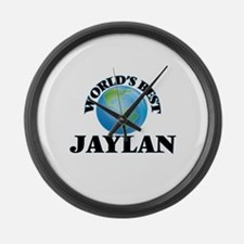 World's Best Jaylan Large Wall Clock
