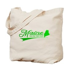 Maine State of Mine Tote Bag