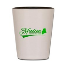 Maine State of Mine Shot Glass