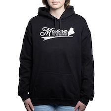 Maine State of Mine Women's Hooded Sweatshirt