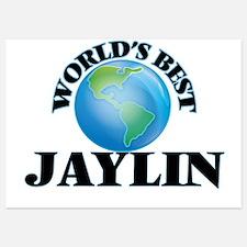 World's Best Jaylin Invitations