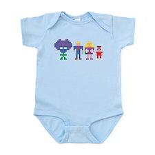 Robotronlike Family Body Suit