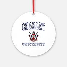 CHARLEY University Ornament (Round)