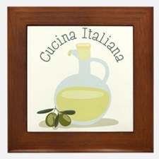 Cucina Italiana Framed Tile