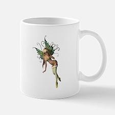 Green Wing Fairy Mug