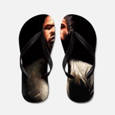 Prayin' Man Flip Flops