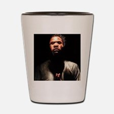 Prayin' Man Shot Glass