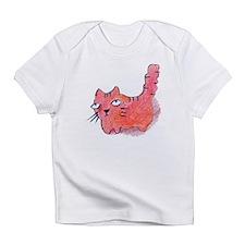 Orange Kitty Infant T-Shirt