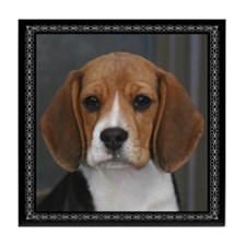 Picture Perfect Beagle Tile Coaster